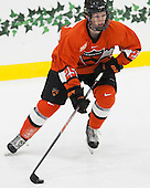 Tommy Davis (Princeton - 25) - The Harvard University Crimson defeated the visiting Princeton University Tigers 5-0 on Harvard's senior night on Saturday, February 28, 2015, at Bright-Landry Hockey Center in Boston, Massachusetts.