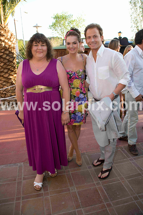 **ALL ROUND PICTURES FROM SOLARPIX.COM**.**WORLDWIDE SYNDICATION RIGHTS**.British TV celebrities at the Pirates Charity Premier for GOSH, held in Magaluf, Mallorca, Spain. 2 May 2009..This pic: Cheryl Fergison, Joe Swash and Kara Tointon..JOB REF: 8936 WUN       DATE: 02_05_2009.**MUST CREDIT SOLARPIX.COM OR DOUBLE FEE WILL BE CHARGED**.**ONLINE USAGE FEE  GBP 50.00 PER PICTURE - NOTIFICATION OF USAGE TO PHOTO @ SOLARPIX.COM**.**CALL SOLARPIX : +34 952 811 768 or LOW RATE FROM UK 0844 617 7637**