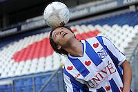 VOETBAL: HEERENVEEN: Abe Lenstra Stadion 02-01-2015, SC Heerenveen nieuwe spelers Simon Thern (Sweed), ©foto Martin de Jong