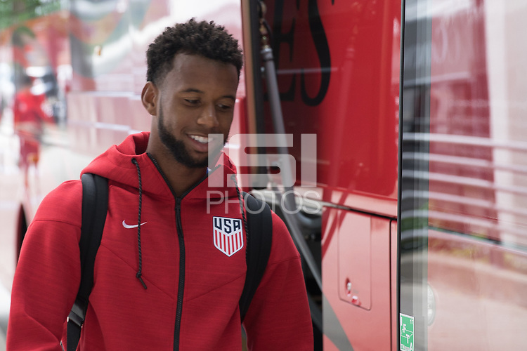 Nashville, TN - June 29, 2017: The USMNT traveled to Hartford before their friendly Match vs Ghana.
