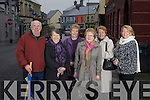 Members of the Listowel branch of St Vincent de Paul, pictured here last Wednesday morning in the town, l-r: Michael Dillane, Kay Landy, Betty Browne, Hannah Mulvihill, Mary Stack and Marie McAuliffe(President).