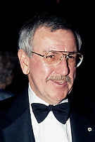 FILE PHOTO - L'Editeur de la Presse Roger D Landry en  1985, probablement au gala La Presse, le 20 octobre 1985<br /> <br /> PHOTO :   Agence quebec Presse