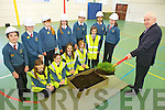 Minister Jimmy Deenihan was in Scoil Eoin, Balloonagh for the turning of the sod in preparation for the construction of the new school building. Pictured sitting l-r were: Clodagh O'Sullivan, Jessica Barrett, Saibh Norris, Majella Votta and Sarah Jane Hoffman. Back l-r were: Eoin Walsh, Sandra Monaghan, Linda Ciraham, Amy O'Mahony, Matthew Lukco, Aliha Dar and Ciara Ryan. Minister Jimmy Deenihan was in Scoil Eoin, Balloonagh on Friday morning for the turning of the sod in preparation for the construction of the new school building. Pictured sitting l-r were: Clodagh O'Sullivan, Jessica Barrett, Saibh Norris, Majella Votta and Sarah Jane Hoffman. Back l-r were: Eoin Walsh, Sandra Monaghan, Linda Ciraham, Amy O'Mahony, Matthew Lukco, Aliha Dar and Ciara Ryan.