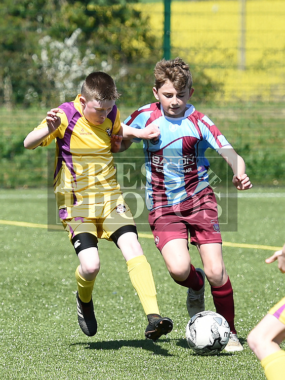 Drogheda Schoolboys Lorcan Buckley Wexford Ciaran Scott. Photo:Colin Bell/pressphotos.ie