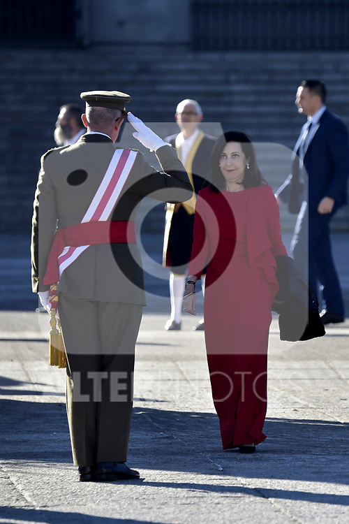 Margarita Robles attends to Pascua Militar at Royal Palace in Madrid, Spain. January 06, 2019. (ALTERPHOTOS/Pool)