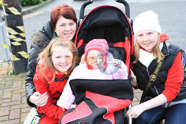 Ciara, Jenny, Tara and Louise Allen at the 5 Bridges Walk in aid of Down Syndrome Ireland...(Photo credit should read Jenny Matthews www.newsfile.ie)....This Picture has been sent you under the conditions enclosed by:.Newsfile Ltd..The Studio,.Millmount Abbey,.Drogheda,.Co Meath..Ireland..Tel: +353(0)41-9871240.Fax: +353(0)41-9871260.GSM: +353(0)86-2500958.email: pictures@newsfile.ie.www.newsfile.ie.