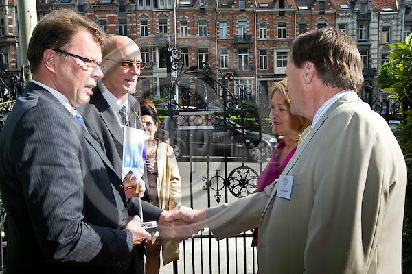 BRUSSELS - BELGIUM - 28 MAY 2008 -- Ten years Anniversary Celebration and Reception of the North Sweden Brussels Office. -- Hosted by Marie-Louise RÖNNMARK and Inge ANDERSSON -- PHOTO: Juha ROININEN / EUP-IMAGES