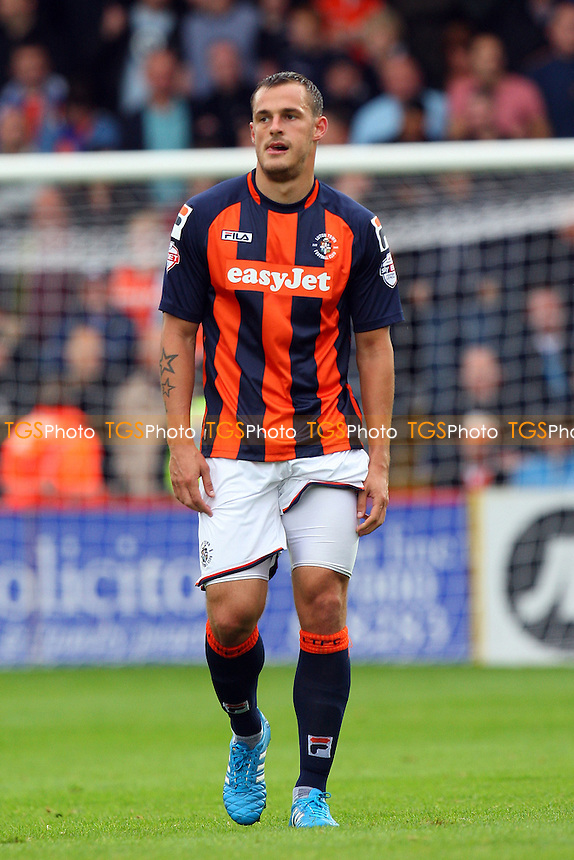 Luke Wilkinson of Luton Town - Stevenage vs Luton Town - Sky Bet League Two action at the Lamex Stadium on 04/10/2014 - MANDATORY CREDIT: Dave Simpson/TGSPHOTO - Self billing applies where appropriate - 0845 094 6026 - contact@tgsphoto.co.uk - NO UNPAID USE