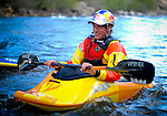 May 30, 2016 - Buena Vista, Colorado, U.S. -  Team Jackson and world champion freestyle kayaker, Dane Jackson, following his victory in the Men's Freestyle Kayak competition during the CKS Paddlefest, one of the Rocky Mountain Region's first adventure events of the summer in Buena Vista, Colorado.