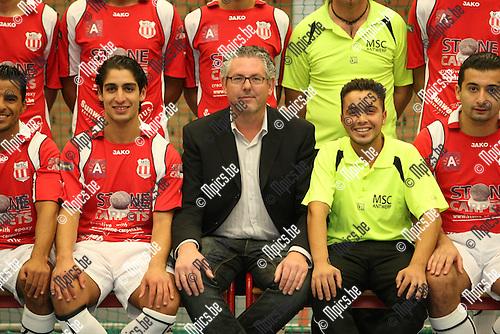 2009-10-12 / Futsall / seizoen 2009-2010 / MSC Antwerpen / Daniel Callewaert..Foto: mpics