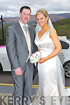 Anne Collins daughter of Tom and Betty, Ballinahulla, Ballydesmond and Mike Herlihy son Patsy and Betty, Cullane Cross, Gneeveguilla who were married on Saturday at St Patrick's Church, Ballydesmond. Fr Pat McCarthy officiated at the ceremony assisted by Fr Kevin McNamera. Bestman was Pat Herlihy (grooms brother) and groomsman was Brian Kelly. Bridesmaids were Julie Dennehy and Marie Cronin. Flowergirls was Grace Collins. Pageboy was Eoin Herlihy The reception was held at the Ballyroe Heights hotel, Tralee and the couple will reside in Gneeveguilla.
