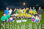 The Killarney Celtic Soccer team who defeated Dynamos in the Castlebar League Cup replay final at Mounthawk Park, Tralee on Wednesday evening.