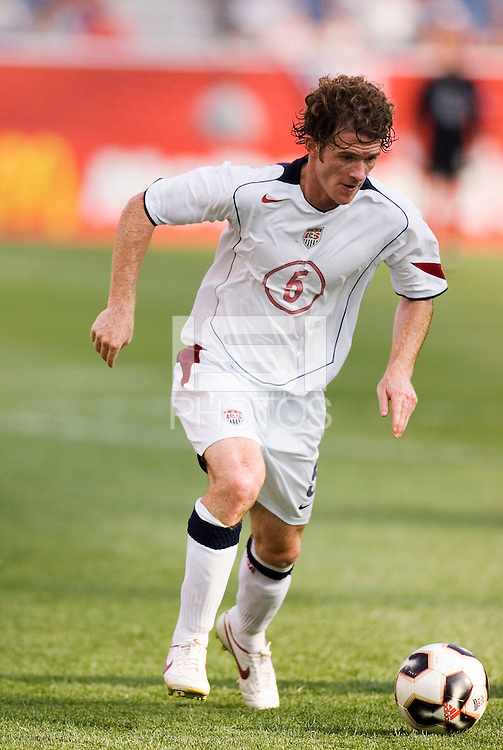 USA's John O'Brien. The United States defeated Jamaica 3 to 1 in quarterfinal CONCACAF Gold Cup action at Gillette Stadium, Foxbourgh, MA, on July 16, 2005.