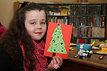 Katelyn Teelan at the Christmas Workshop in The Library...(Photo credit should read Jenny Matthews www.newsfile.ie)....This Picture has been sent you under the conditions enclosed by:.Newsfile Ltd..The Studio,.Millmount Abbey,.Drogheda,.Co Meath..Ireland..Tel: +353(0)41-9871240.Fax: +353(0)41-9871260.GSM: +353(0)86-2500958.email: pictures@newsfile.ie.www.newsfile.ie.