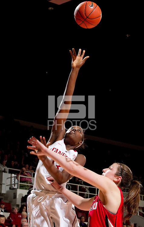 STANFORD, CA - February 29, 2012:  Stanford vs Seattle University at Maples Pavilion. Stanford won 76-52.