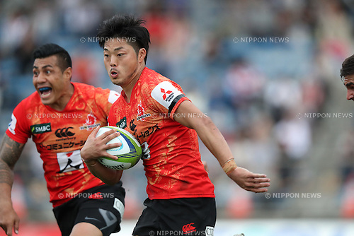 Yasutaka Sasakura (Sunwolves),<br /> APRIL 23, 2016 - Rugby : Super Rugby match between Sunwolves 36-28 Jaguares at Prince Chichibu Memorial Stadium in Tokyo, Japan. (Photo by AFLO SPORT)