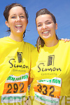Running for the Simon Community last Saturday in Ballybunnion was Niamh McNamara from Clare and Rachel Conway from Ballynetty, Co Limerick.
