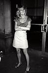 Teri Garr on the set filming TOOTSIE on June 9, 1982 in New York City.