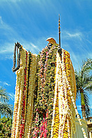 Lei are draped on the King Kamehameha statue in O'ahu's downtown Honolulu on June 6 before the king's birthday parade each year.
