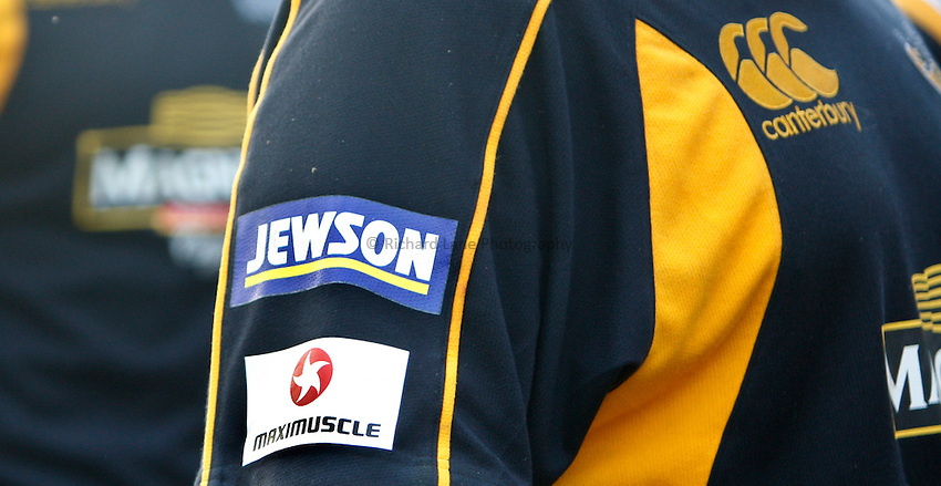 Photo: Richard Lane/Richard Lane Photography..London Wasps v Gloucester Rugby. EDF Energy Cup. 04/11/2007. .Wasps rugby shirts.