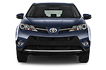 Car photography straight front view of a 2015 Toyota RAVA4 Lounge 5 Door SUV