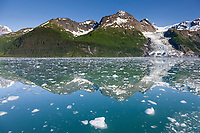 Cascade Glacier, Chugach mountains, Chugach National forest, Prince William Sound, southcentral, Alaska.