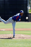 Carlos Pimentel  - Texas Rangers - 2009 spring training.Photo by:  Bill Mitchell/Four Seam Images