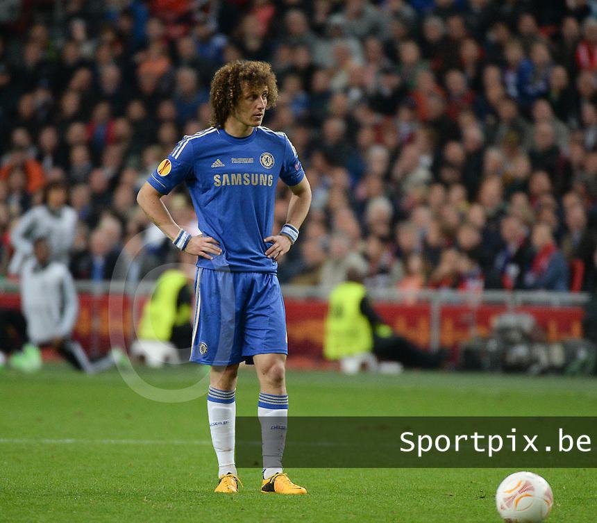 Benfica Lissabon - Chelsea FC : David Luiz.foto DAVID CATRY / Nikonpro.be