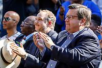 Hommage<br />  a Oliver Jones, en presence du Maire Denis Coderre, le 16 septembre 2017<br /> <br /> PHOTO : Agence Quebec Presse