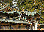 Haiden Oratory Karamon Arched Gable Gate Koma-inu Lion Dog Ryu Dragon Tozai Sukibe Roofed Transparent Wall Honsha Central Shrine Nikko Toshogu Shrine Nikko Japan