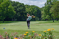 Brooke M. Henderson (CAN) watches her tee shot on 11 during round 1 of the 2018 KPMG Women's PGA Championship, Kemper Lakes Golf Club, at Kildeer, Illinois, USA. 6/28/2018.<br /> Picture: Golffile | Ken Murray<br /> <br /> All photo usage must carry mandatory copyright credit (&copy; Golffile | Ken Murray)
