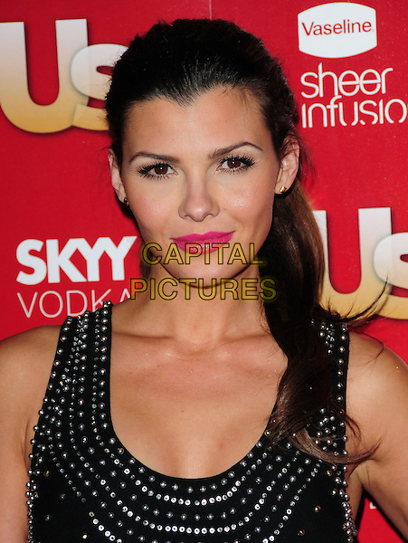 ALI LANDRY            .US Weekly's Hot Hollywood Party 2009 held at Voyeur, West Hollywood, California, USA. .November 18th, 2009.headshot portrait silver pink lipstick black studs studded .CAP/RKE/DVS.©DVS/RockinExposures/Capital Pictures.