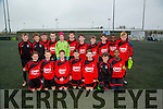 The Park under 13 team who played Inter-Kenmare in the Under 13 Kerry Cup on Saturday at Mounthawk Park,Tralee. Front l-r: Conor Kerins,Cian O'Neill,Colin Doody,Cianan Cooney,Josh Connolly,ben Hanafin and Samual Aladesanusi. Back l-r,Sean O'Connor,Sean O'Connell,Kieran O'Connor,Luke O'Connell,Liam Carmody,Jack Kearney,Cillian Murphy,David Feeley,Sean Hill,Messiah Charwais and Danny Jeffers.