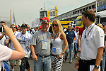 DTM Nuerburgring, 7.Lauf 2008<br /> Cora Schumacher war ein beliebter Fotomotiv<br /> <br /> Foto © nph (nordphoto)