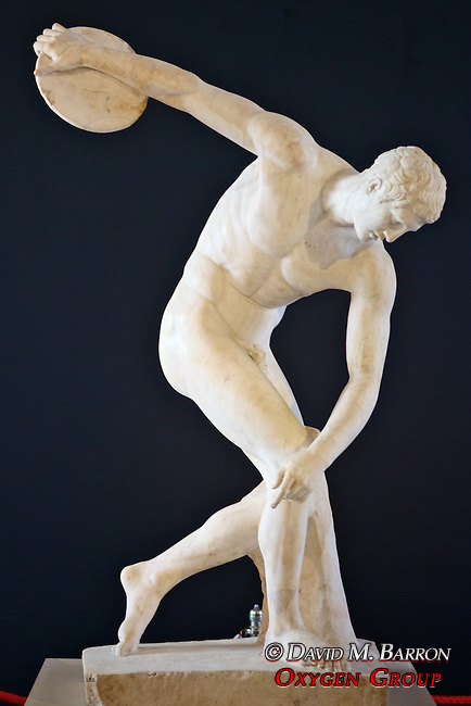 Discus- Thrower (Discobolus of Myron), Istanbul Archaeology Museum