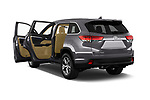 Car images of 2017 Toyota Highlander LE-Plus 5 Door SUV Doors