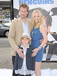 James Tupper,Anne Heche and Anne's son at Twentieth Century Fox's L.A. Premiere of Mr. Popper's Penguins held at The Grauman's Chinese Theatre in Hollywood, California on June 12,2011                                                                               © 2010 Hollywood Press Agency
