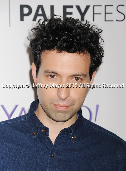 HOLLYWOOD, CA - MARCH 08: Actor Alex Karpovsky attends The Paley Center For Media's 32nd Annual PALEYFEST LA - 'Girls' at Dolby Theatre on March 8, 2015 in Hollywood, California.