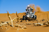 12th January 2020, Riyadh, Saudi Arabia;  265 Vitse Simon (fra), Yamaha, Je peux 2020-BBR Mercier Racing, Quad, action during Stage 7 of the Dakar 2020 between Riyadh and Wadi Al-Dawasir, 741 km - SS 546 km, in Saudi Arabia - Editorial Use