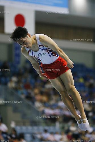 Masaki Ito, JULY 6, 2014 - Trampoline : The 68th All Japan Artistic Gymnastics Apparatus Championship, Men's Trampoline Final at Chiba Port Arena, Chiba, Japan. (Photo by Yusuke Nakanishi/AFLO SPORT)