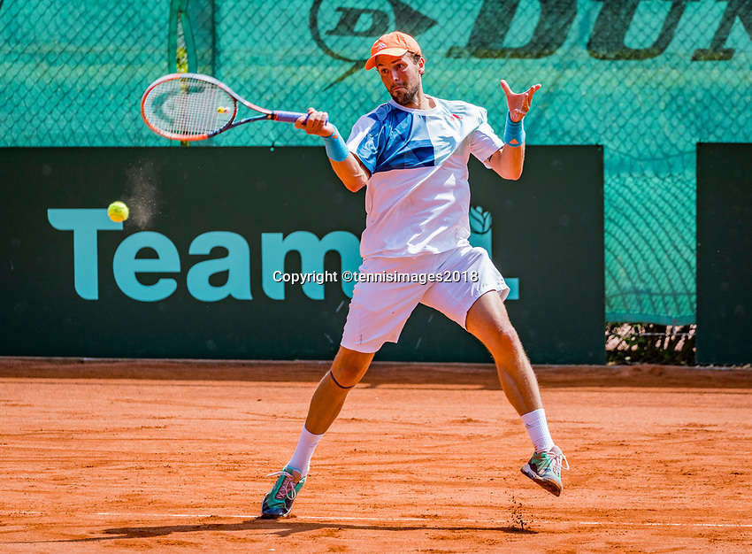 The Hague, Netherlands, 10 June, 2018, Tennis, Play-Offs Competition, Boy Westerhof (NED)<br /> Photo: Henk Koster/tennisimages.com