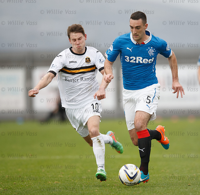 Mitch Megginson and Lee Wallace