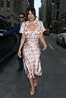 NEW YORK - NY - OCTOBER 8: Priyanka Chopra Jonas seen at NBC's Today Show in New York City on October 08, 2019. <br /> CAP/MPI/RW<br /> ©RW/MPI/Capital Pictures