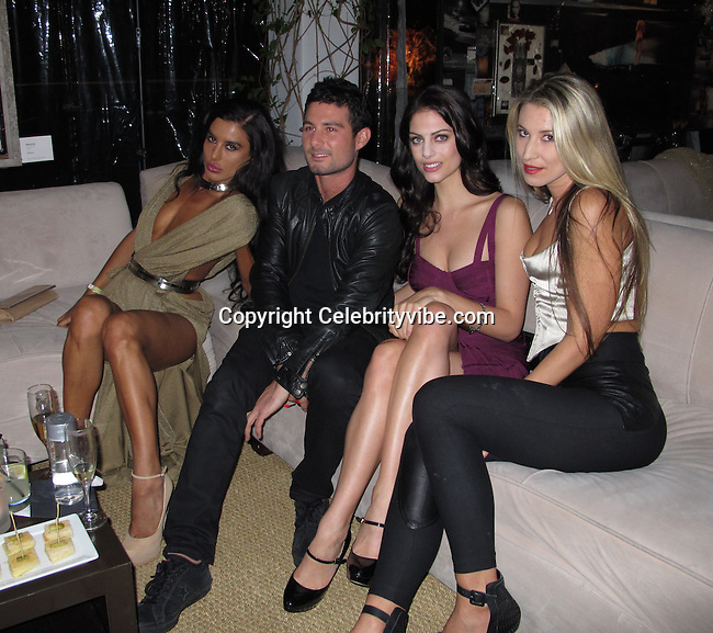 """Vildane Zeneli, Julia Voth..""""Culo By Mazzucco"""" Book and Exhibit Launch Party..Sunset Marquis Hotel & Villas..West Hollywood, CA, USA..Saturday, November 19, 2011..Photo By CelebrityVibe.com..To license this image please call (323) 325-4035; or Email: CelebrityVibe@gmail.com ; .website: www.CelebrityVibe.com .**EXCLUSIVE**"""