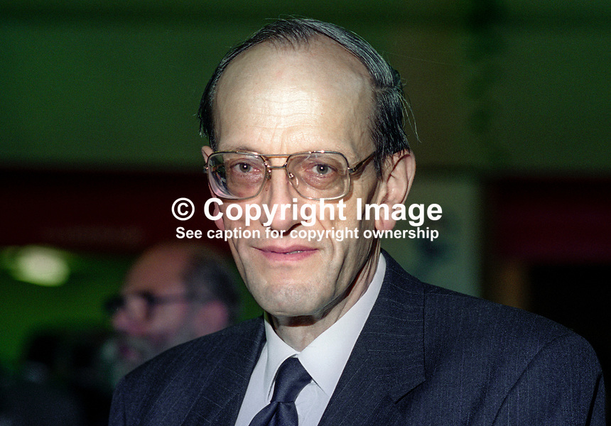 Professor Brian Prichard, Conservative Medical Society, Conservative Party Conference, October, 1994, 199410060<br />