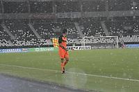 Rio de Janeiro (RJ), 30/01/2020 - Botafogo-Redende - Chuva paraliza partida,valida pela 4ª rodada da Taca Guanabara 2020, realizada no Estadio Nilton Santos (Engenhao), na zona norte do Rio de Janeiro,nesta quinta (30). (Foto: Alexandre Durao/Codigo 19/Codigo 19)