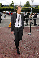 Pictured: arrives Wednesday 20 May 2015<br /> Re: Swansea City FC Awards Dinner at the Liberty Stadium, south Wales, UK