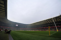 A general view of Twickenham Stadium prior to the match. Big Game 5 Aviva Premiership match, between Harlequins and London Irish on December 29, 2012 at Twickenham Stadium in London, England. Photo by: Patrick Khachfe / Onside Images