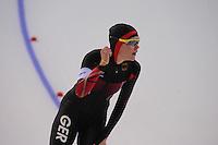 OLYMPICS: SOCHI: Adler Arena, 11-02-2014, 500m Ladies, Gabriele Hirschbichler (GER), ©foto Martin de Jong