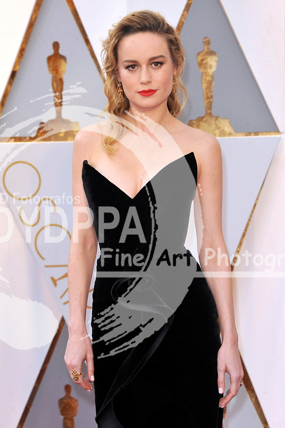 Brie Larson attends the 89th Annual Academy Awards at Hollywood & Highland Center on February 26, 2017 in Hollywood, California.